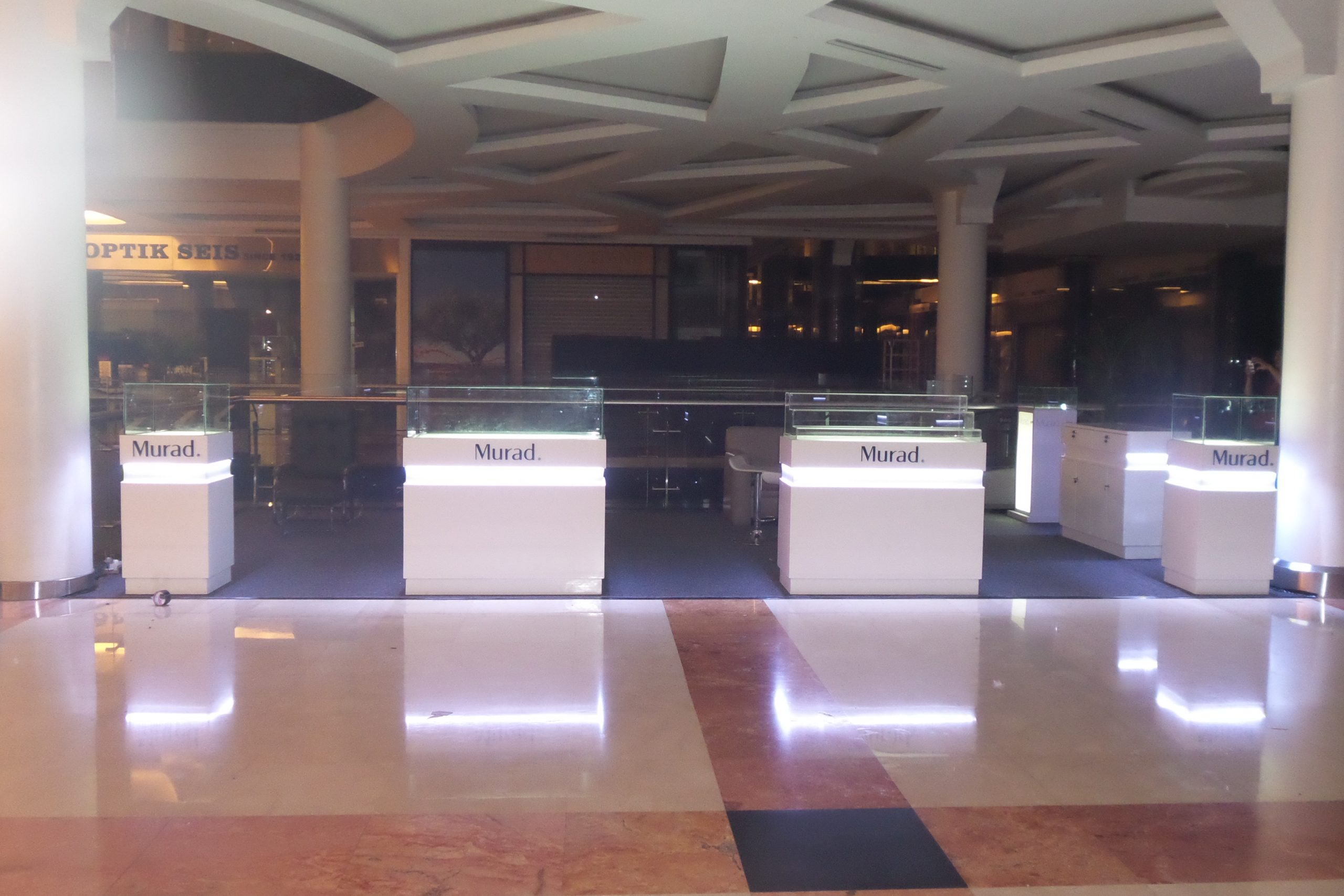 stand event interior